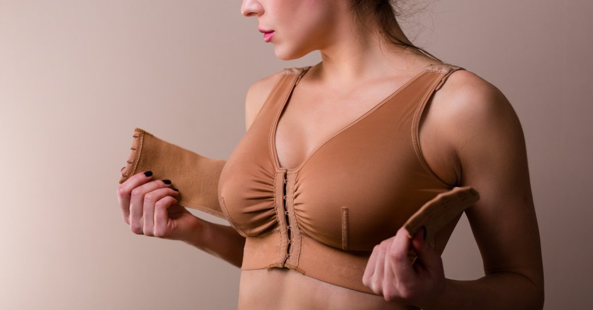 Breast Augmentation Recovery Bra - Dr. Beverly Fischer