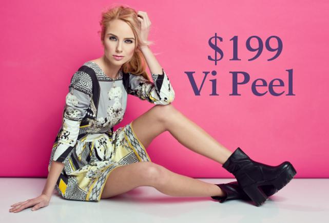Vi Peel - July Specials   D. Beverly Fischer