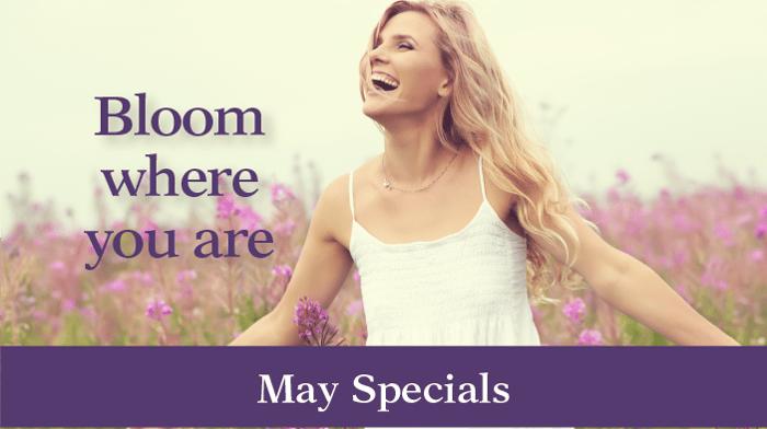 May Specials Slider